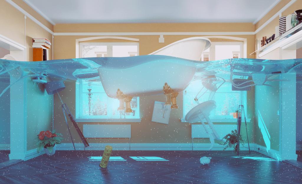 Stor besparelse på akut vandskadeservice online