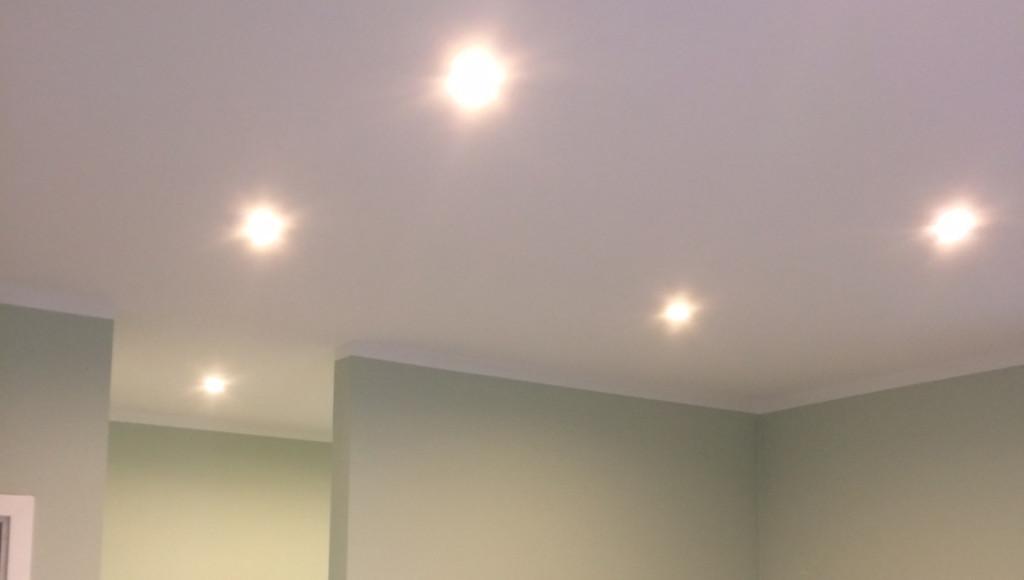Populære LED indbygningsspots på tilbud online