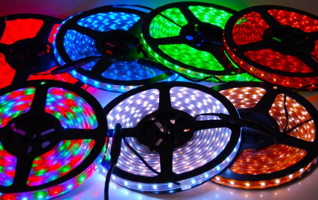 Stor besparelse på bestillingen af LED strips online